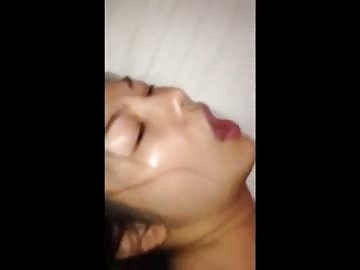 small chinese girl getting her butthole banged by a huge black dick